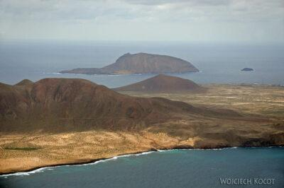 Lan6064-Lot PW - widok wyspę Graciosa