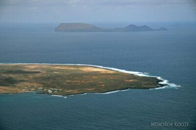 Lan6065-Lot PW - widok wyspę Graciosa