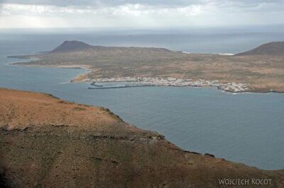 Lan6081-Lot PW - widok wyspę Graciosa