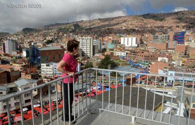 PBi012-La Paz-widok zdachu hotelu Milton