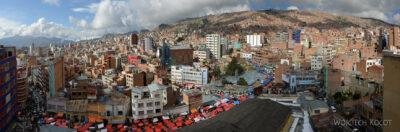 PBi013-La Paz-widok zdachu hotelu Milton