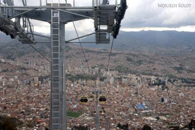 PBi160-La Paz-żółtą linią gondolki