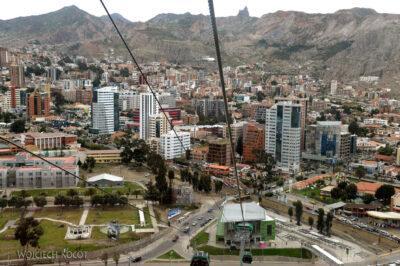 PBi176-La Paz-zieloną linią gondolki