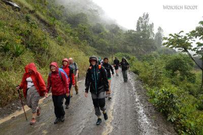 PBt010-Na trasie drugiego dnia trekingu