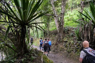 PBt159-Na trasie drugiego dnia trekingu
