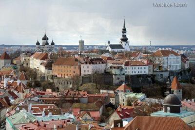BałtF166-Tallinn-Widok zwieży Katedry naGórne Miasto