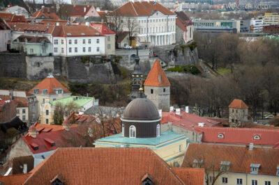 BałtF173-Tallinn-Widok zwieży Katedry