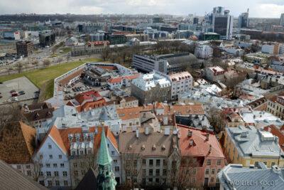BałtF179-Tallinn-Widok zwieży Katedry