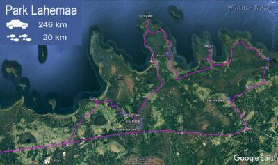 BałtG001-Park Lahemaa-mapka