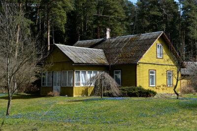 BałtG069-Park Lahemaa-drewniane domy