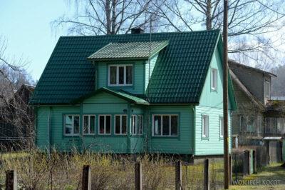 BałtG071-Park Lahemaa-drewniane domy