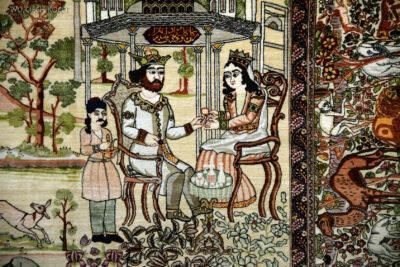Irnc075-Teheran-W muzeum Dywanów