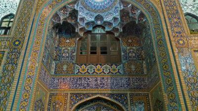 Irng100-Mashhad-nocą przy grobie Imama Rezy