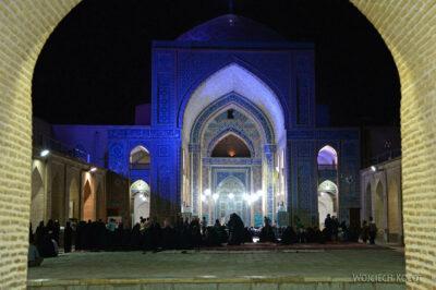 Irnl209-Jazd-Meczet Piątkowy nocą