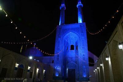 Irnl214-Jazd-Meczet Piątkowy nocą