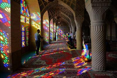 Irnn032-Shiraz-Meczet kolorowy