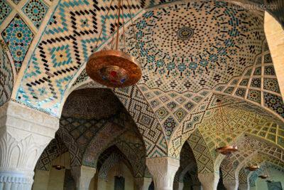 Irnn036-Shiraz-Meczet kolorowy