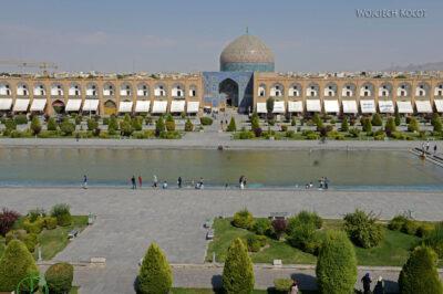 Irnr118-Isfahan-widok zPałacu naMeczet Sułtana Lotfollaha