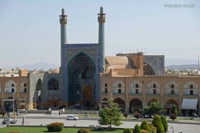 Irnr120-Isfahan-widok zPałacu naMeczet Szacha