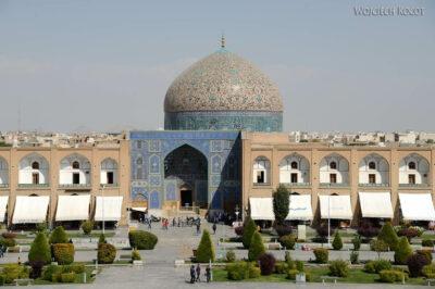Irnr144-Isfahan-widok zPałacu naMeczet Sułtana Lotfollaha