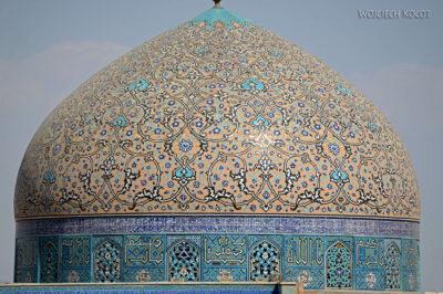 Irnr146-Isfahan-widok zPałacu naMeczet Sułtana Lotfollaha
