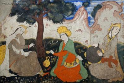 Irns058-Isfahan-Pałac 40 Kolumn