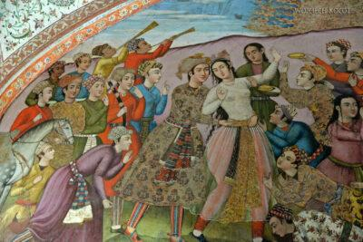 Irns065-Isfahan-Pałac 40 Kolumn