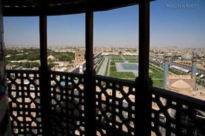 Irnt180-Isfahan-widok ze szczytu minaretu