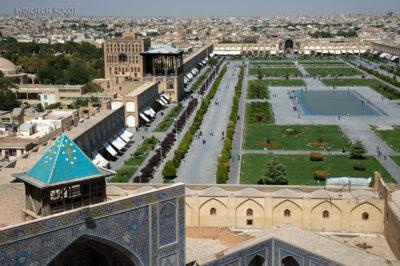 Irnt184-Isfahan-widok ze szczytu minaretu