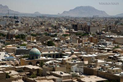 Irnt194-Isfahan-widok ze szczytu minaretu