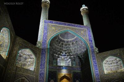 Irnt251-Isfahan-Meczet Szacha nocą