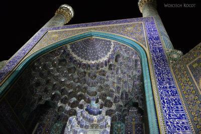 Irnt252-Isfahan-Meczet Szacha nocą