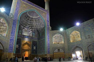 Irnt255-Isfahan-Meczet Szacha nocą