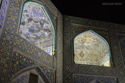Irnt256-Isfahan-Meczet Szacha nocą