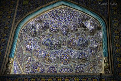 Irnt257-Isfahan-Meczet Szacha nocą