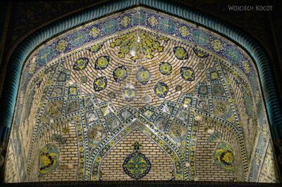 Irnt258-Isfahan-Meczet Szacha nocą