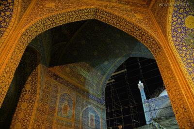 Irnt260-Isfahan-Meczet Szacha nocą