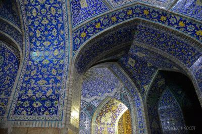 Irnt261-Isfahan-Meczet Szacha nocą