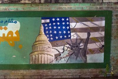 Irnx177-Teheran-ogrodzenie ambasady USA