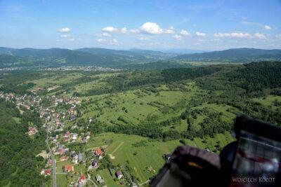 Zar45-Widok E - miejscowość Grzechynia