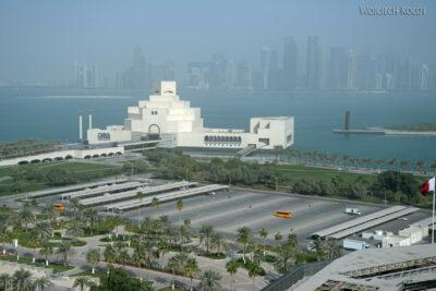 Do012-Doha-Widok zdachu hotelu