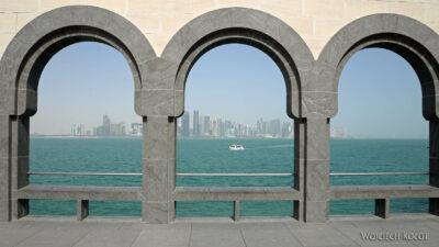Do024-Doha-Widok nawysokościowce