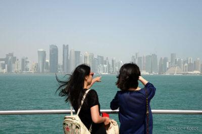 Do025-Doha-Widok nawysokościowce
