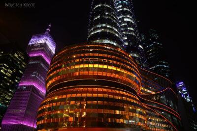 Do283-Doha-Dzielnica wysokosciowców nocą