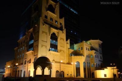 Do291-Doha-Dzielnica wysokosciowców nocą