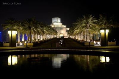 Do313-Doha-Museum of Islamic Art nocą