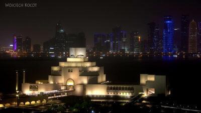 Do317-Doha-Museum of Islamic Art nocą