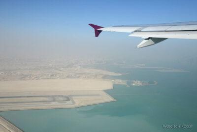 Do327-Doha-z okien samolotu