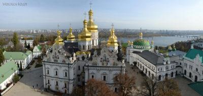 Kijów128-Widok zDzwonnicy naŁawrę
