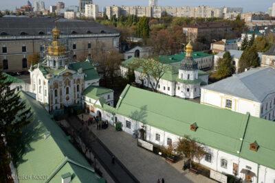 Kijów142-Widok zDzwonnicy naŁawrę